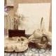 Modelo Talaya libro firmas baul alianzas cesta de petalos o arras de yute